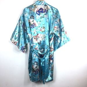 Esme Jackets & Coats - ESME | Vintage |  Print Kimono